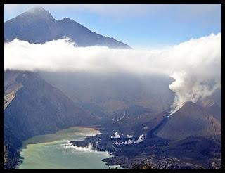 misteri gunung Rinjani