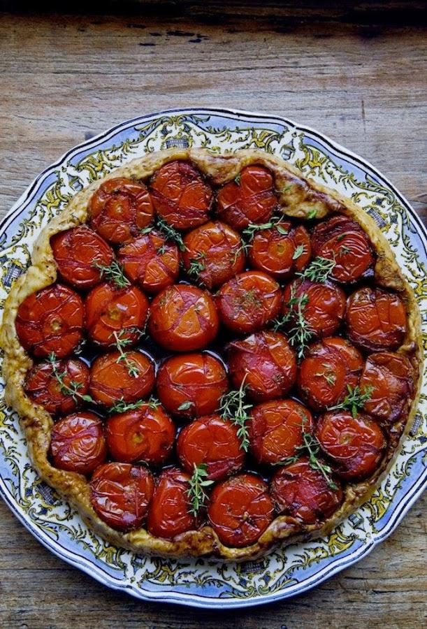 receta tarte tatin de tomates