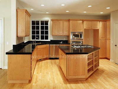 Maple Kitchen Cabinets - New Interior Design on What Granite Goes With Maple Cabinets  id=99794