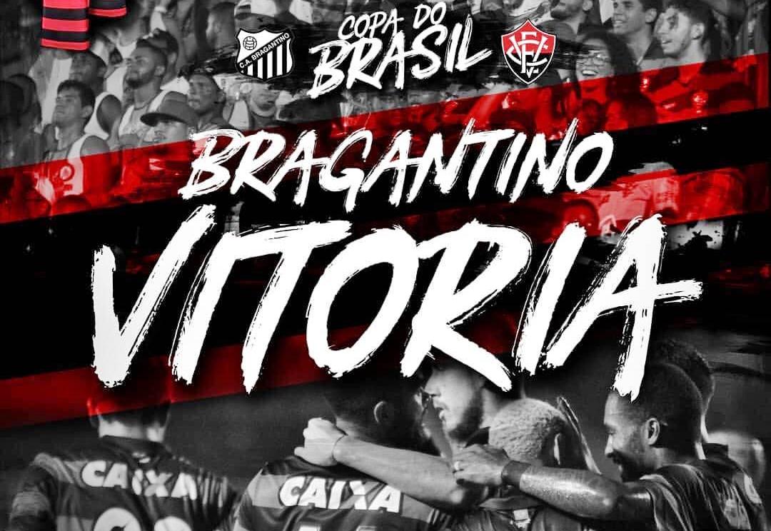 Bragantino x Vitória: saiba como assistir o jogo AO VIVO HD pela Copa do Brasil 1
