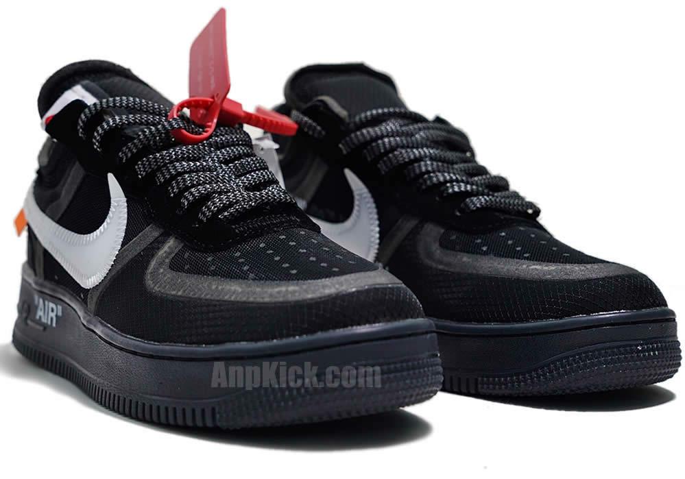 9eba4207ce76 Off-White x Nike Air Force 1 Low  Black White  Shoes AO4606-001 -  www.anpkick.com