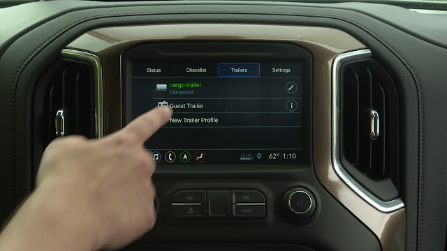 2019 Chevrolet Silverado Aims to Improve Trailering Experiences
