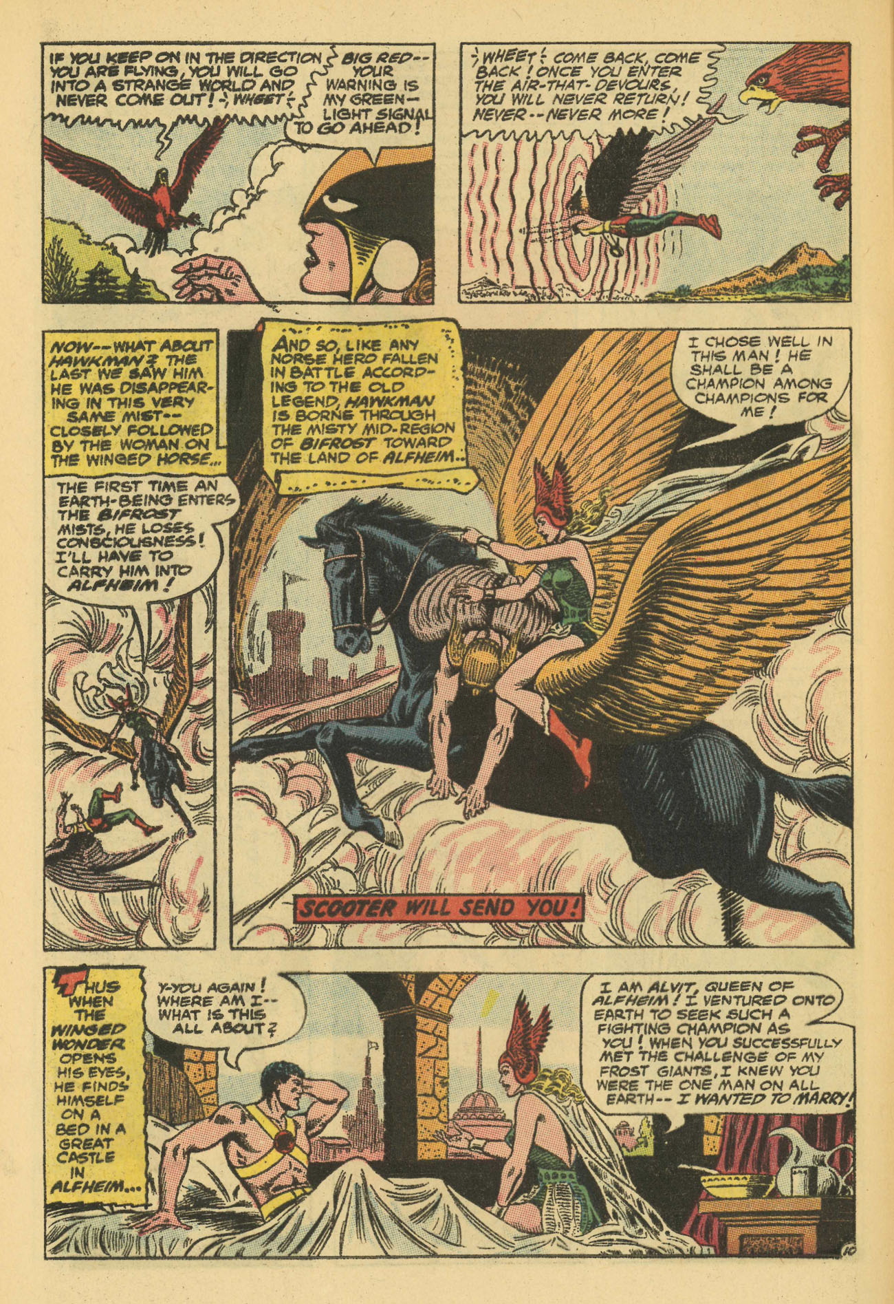 Hawkman (1964) issue 13 - Page 16
