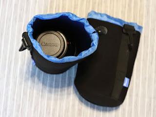 Potensic レンズポーチXLサイズ + Canon EF70-300mm F4-5.6 IS II USM レンズ