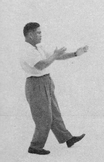太極拳 (方拳) 9 摟膝抝步