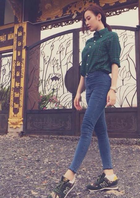 6 kiều nữ mặc quần jeans đẹp nhất Vbiz