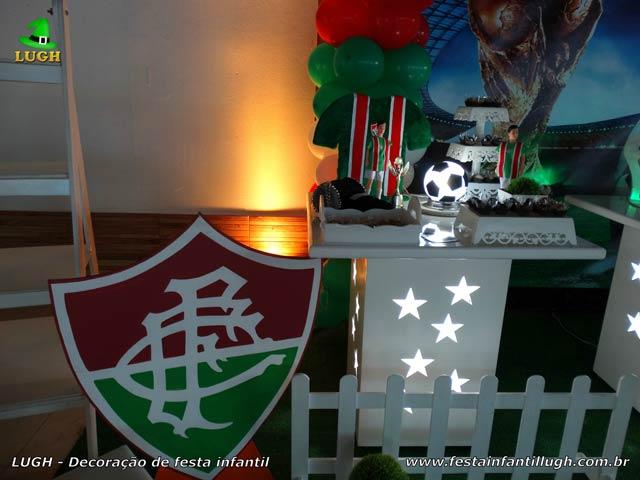 Decoração tema Fluminense - Festa de aniversário infantil