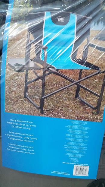 Timber Ridge Director' Chair With Side Table Costco