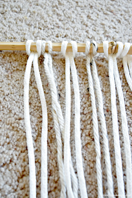 How to DIY a boho wall hanging for your home decor