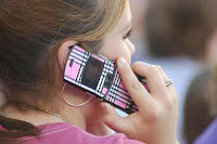 A girl on the phone showing how to cancel plans or appointment in English