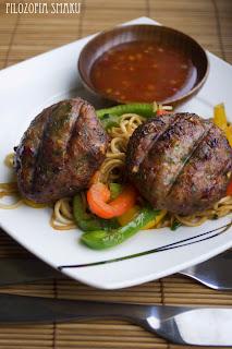 (Pikantne tajskie burgery