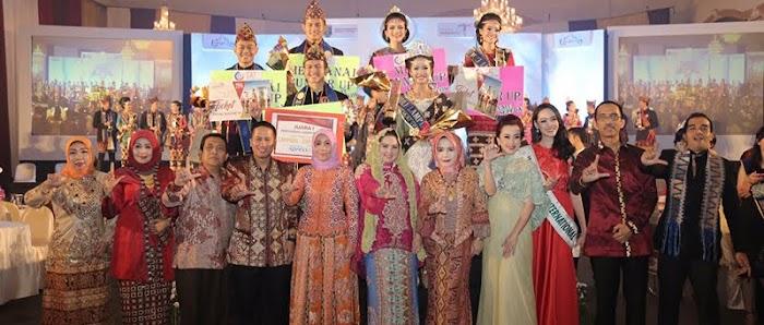 Yulia Juara 1 Muli Mekhanai Lampung 2017