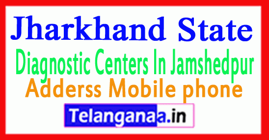 Diagnostic Centers in Jamshedpur Jahakhad