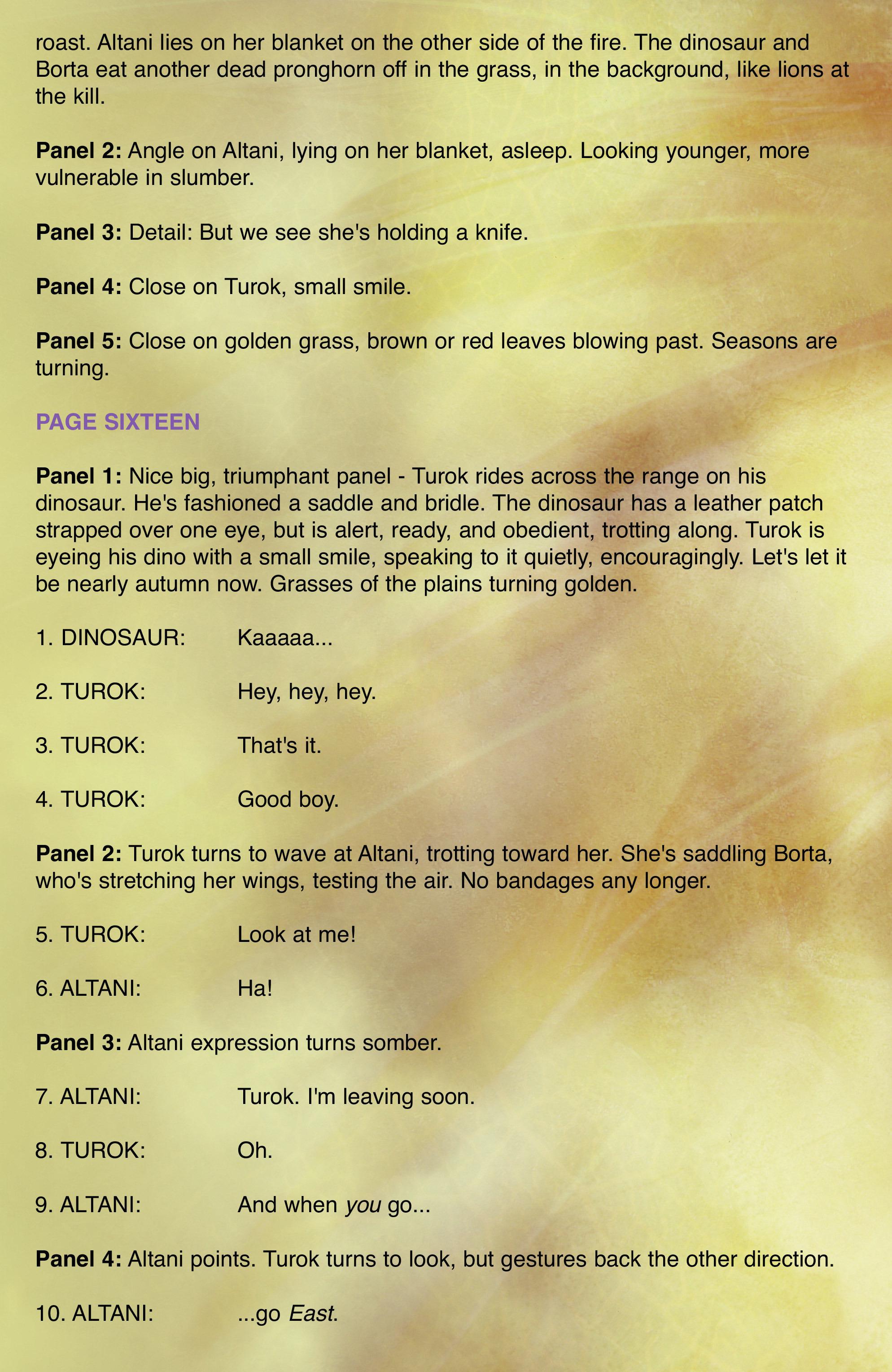 Read online Turok: Dinosaur Hunter (2014) comic -  Issue # _TPB 2 - 100