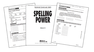 Middle School and High School Spelling Workbooks