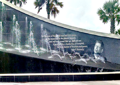JFK Kennedy Space Center Wall in Florida