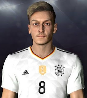 PES 2017 Faces Mesut Ozil by Facemaker Ahmed El Shenawy