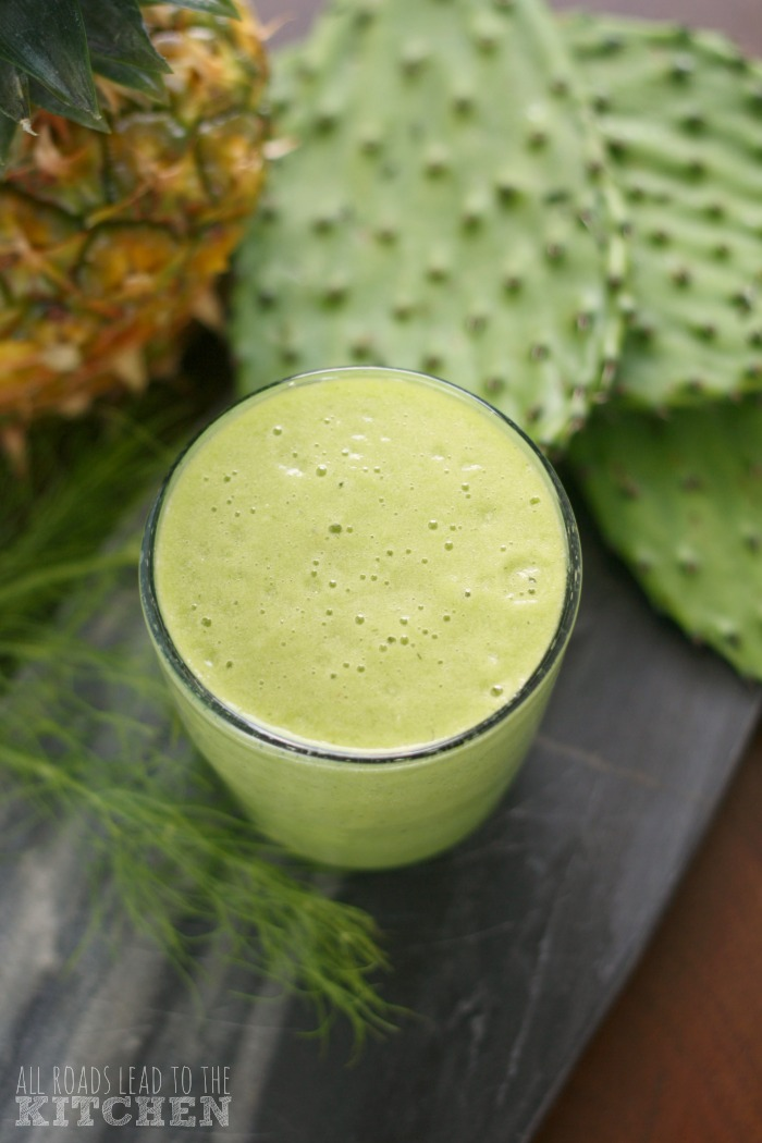 Cactus Pineapple Smoothie