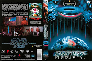 Lifeforce, fuerza vital (1985) - Caratula