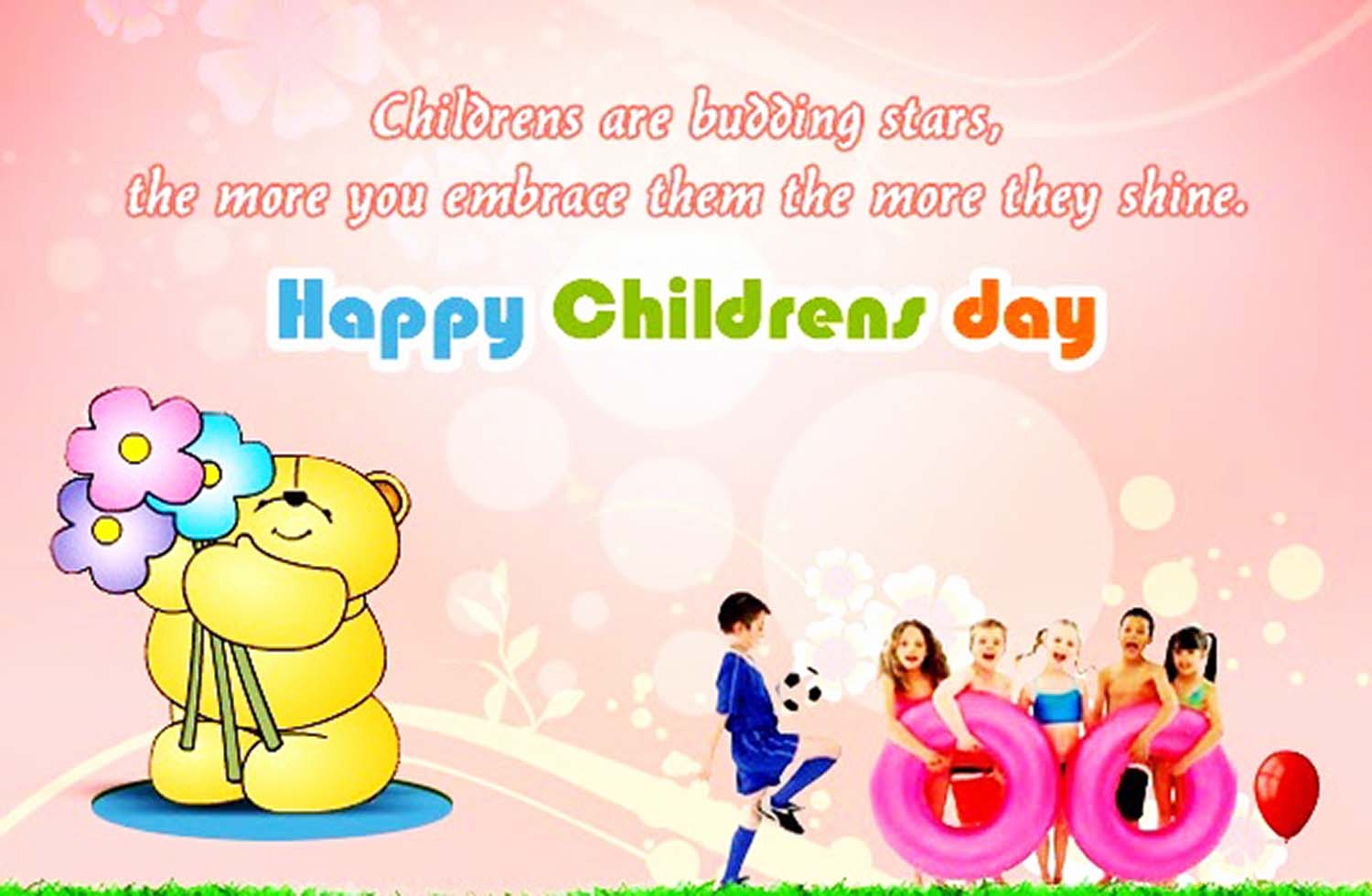 Thought For The Day Quotes Happy Children's Day Quotes Wishes And Small Thoughts  Badhaai