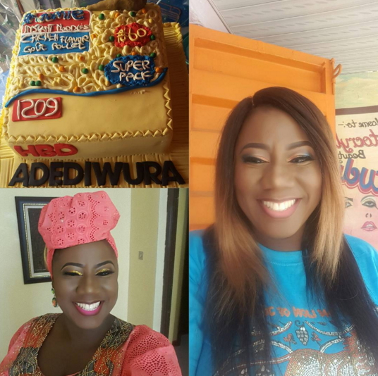 adediwura gold 38th birthday party