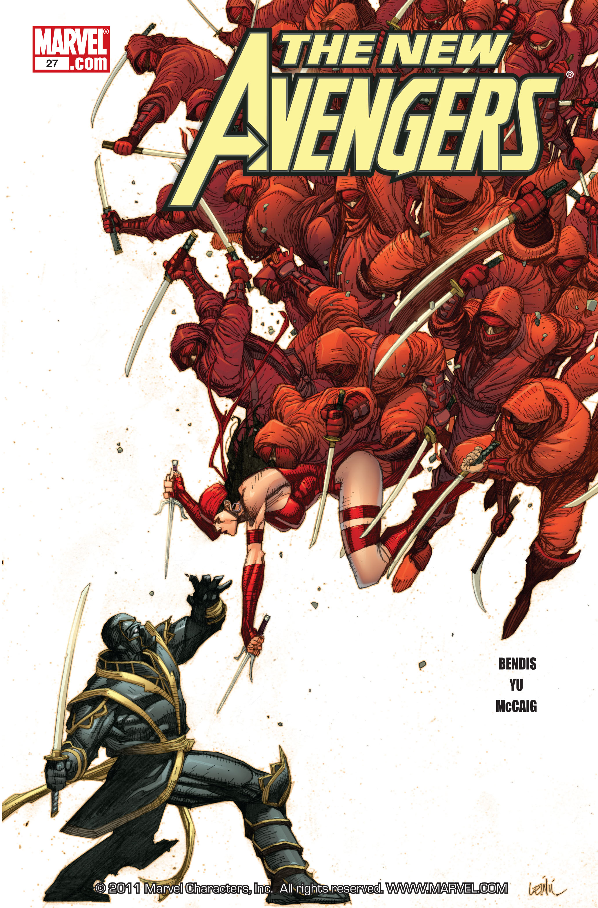 New Avengers (2005) issue 27 - Page 1