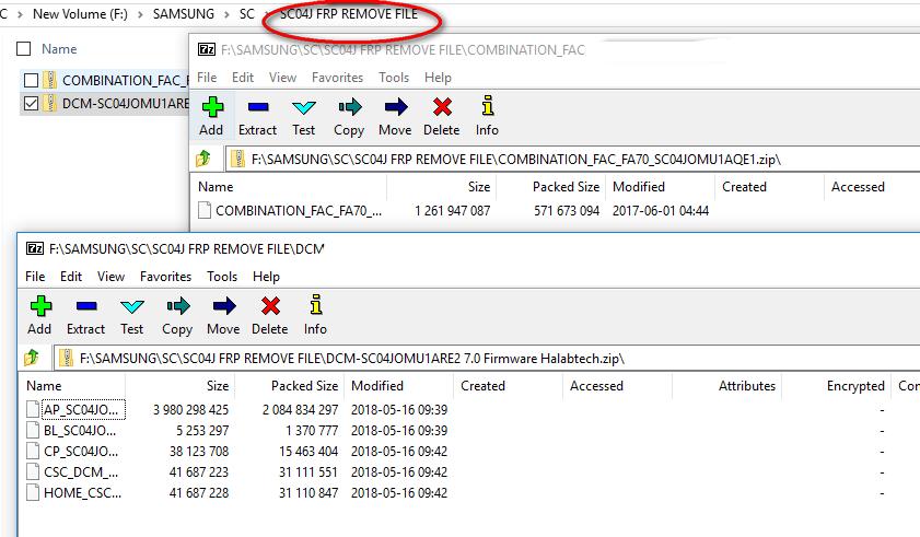 SC-04J Frp Remove File And SC04J Combination + 4 Flash File - MrSolution