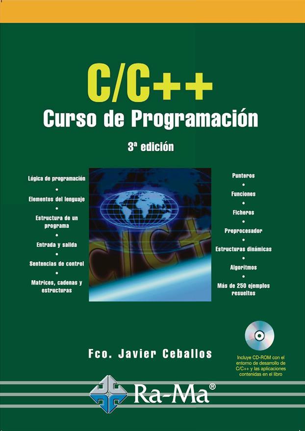 C C Curso De Programación 3ra Edición Javier Ceballos