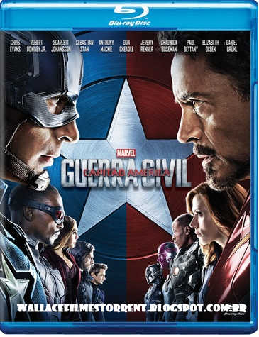 Charada Filmes Capitao America 3 Guerra Civil Torrent 2016 Bluray 1080p 720p Dublado