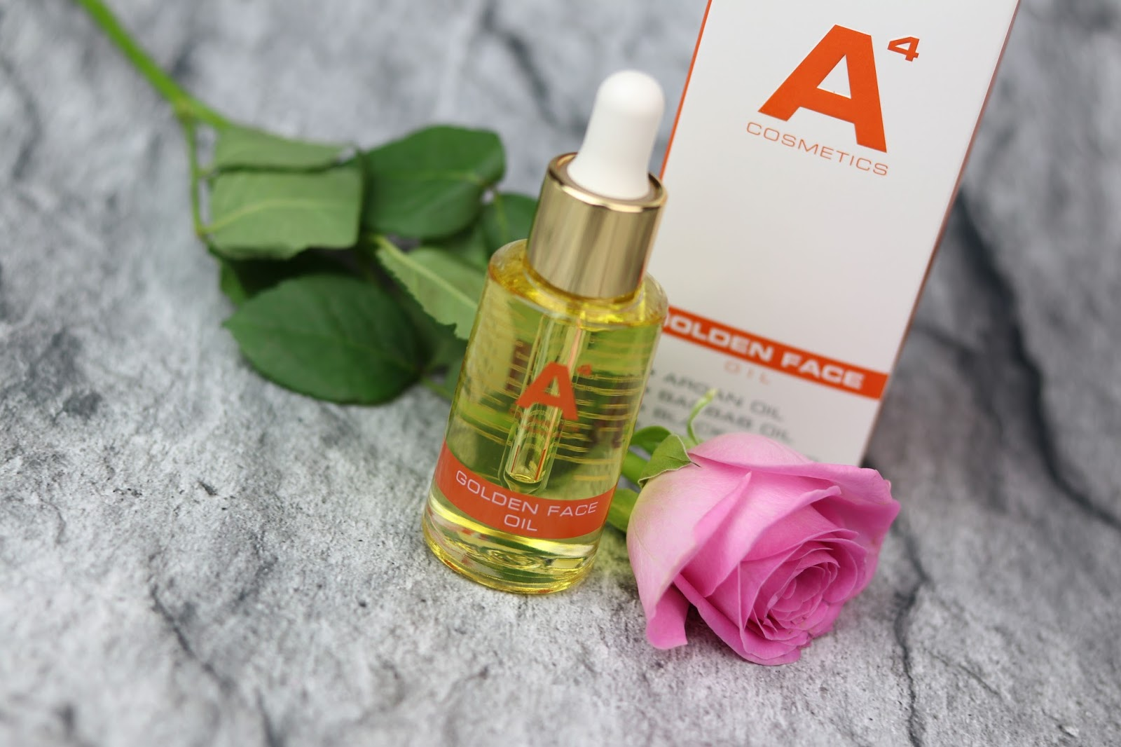 A4 Golden Face Oil, aloe vera, beauty blogger hamburg, beautybox, beautypress news box februar 2018, gesichtspflege, hautpflege, inhalt, merz, naturkosmetik, newsbox, produkte, review, tetesept, trockene haut,