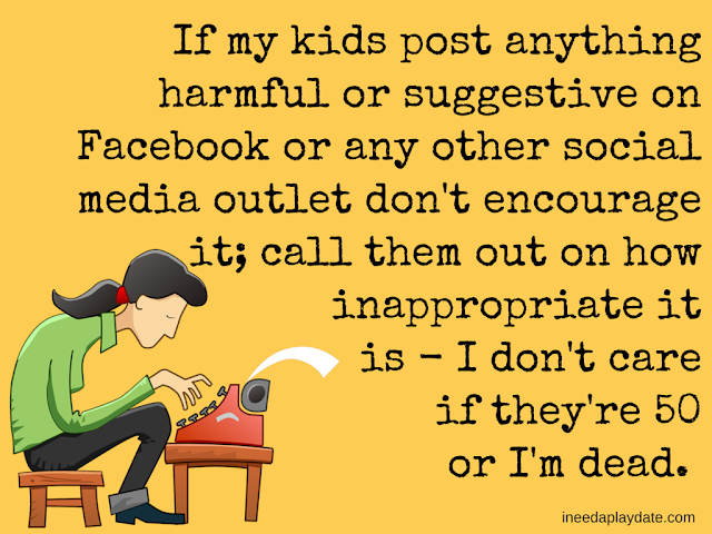 Social Media Responsibility and Why I Let My Kid Have Facebook @mryjhnsn