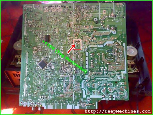 Perbaikan dan Mengatasi Kerusakan Protek pada TV Sharp Amor 14A20MS