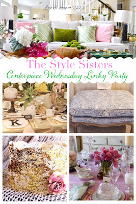 The Style Sisters, spring decorating, Princess crowns, Easter Tablescapes
