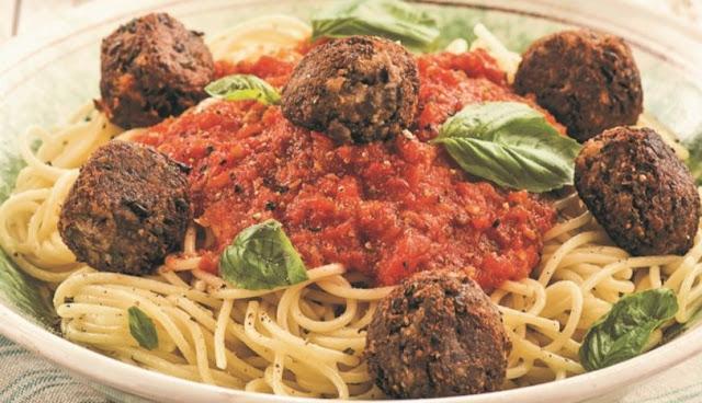 Vegan Köfteli Spagetti 4 kişilik tarif