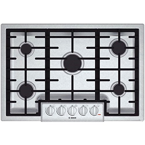 Bosch stainless cooktop