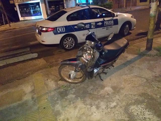 Posadas Maniobras peligrosas en moto y desorden: hay dos detenidos