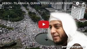 Syaikh Ali Jaber: Saya Lahir di Madinah, Tapi Siap mati di Indonesia dan Beli Kain Kafan