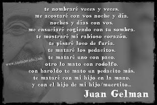 Juan Gelman, poetas de la dictadura argentina, desaparecidos