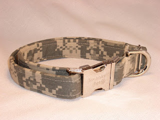 Digital Camo Dog Collar by Swanky Pet on Etsy