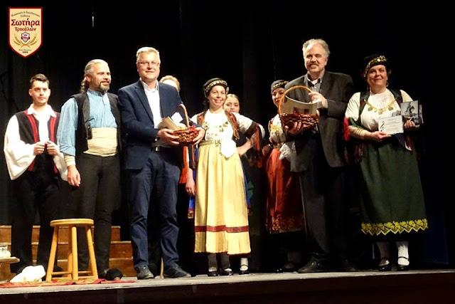 """Με μεγάλη επιτυχία το 1ο ανταμώμα Παραδοσιακών Χορωδιών από τους """"Αργοναύτες"""" στο Κιλκίς"""