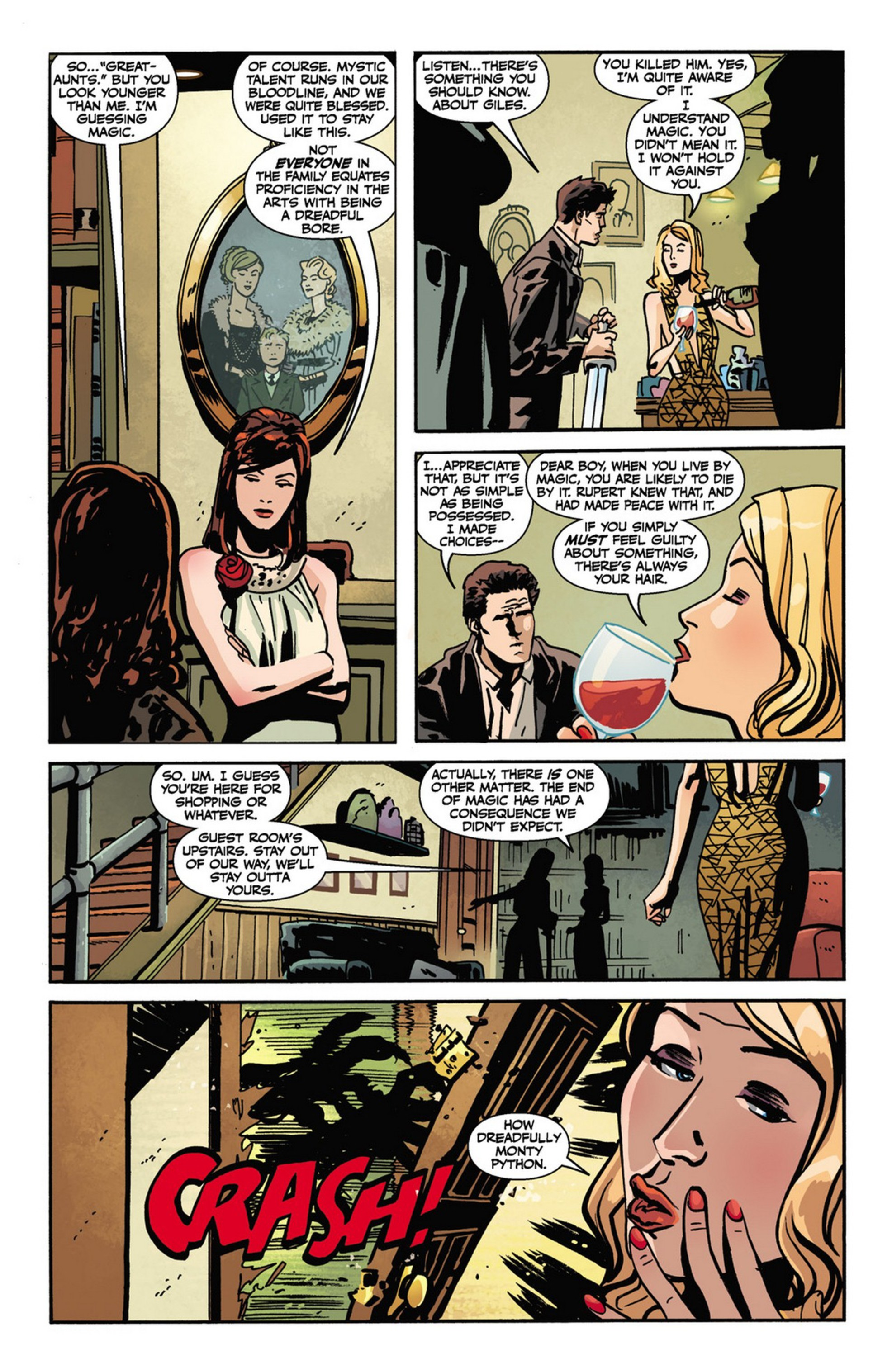 Read online Angel and Faith comic -  Issue #10 - 7