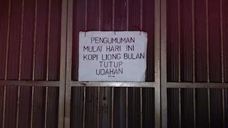 """Legenda Kopi Bogor """" LIONG"""" Tutup Untuk Selamanya"""