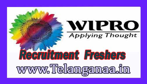 Wipro Recruitment 2016-2017 For Freshers Apply