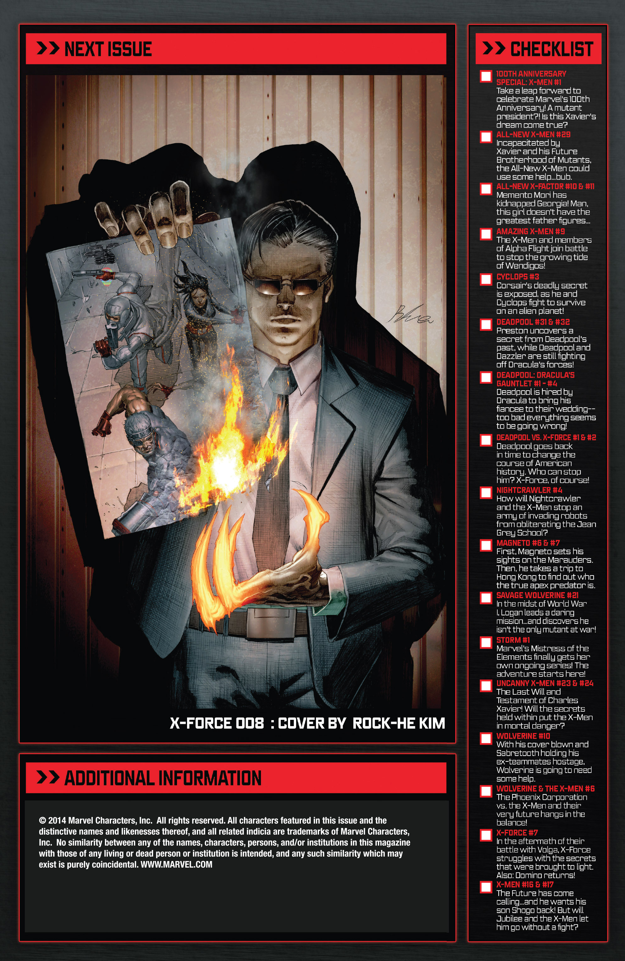 Read online X-Force (2014) comic -  Issue #7 - 22
