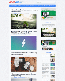 amp personal blogge template,amp blogger template download