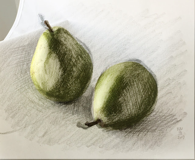 11-18-17 pear drawing overlaid on photo