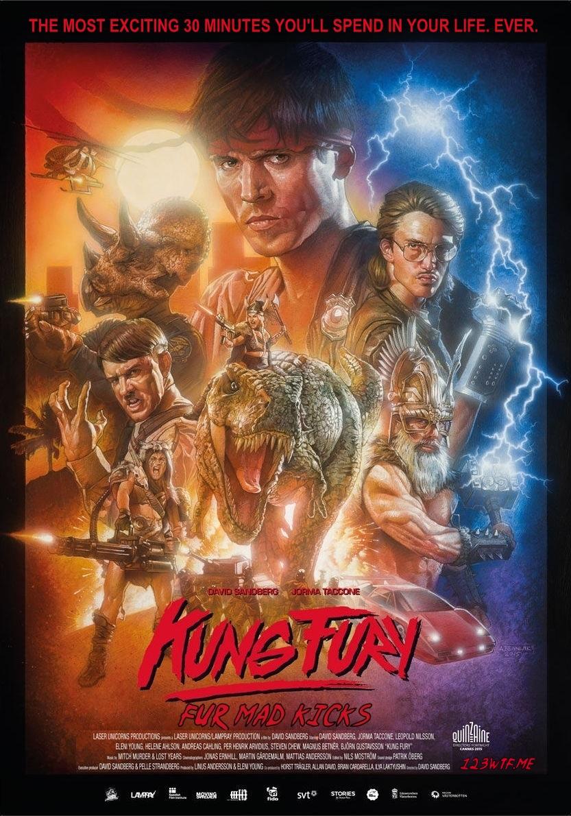 Kung Fury กัง ฟูรี่ ยอดตำรวจพันธุ์พระกาฬ [HD][พากย์ไทย]