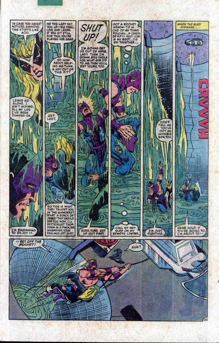 Hawkeye (1983) Issue #1 #1 - English 21