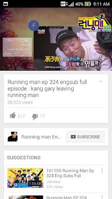 gary keluar running man