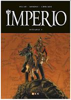 Imperio Integral I de Igor Kordey y Pecau edita ECC